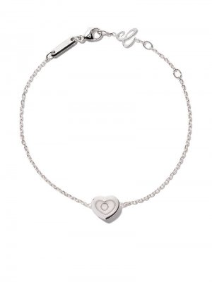 18kt white gold Happy Diamonds Icons bracelet Chopard. Цвет: white gold