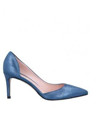 Туфли ANNA F.. Цвет: синий