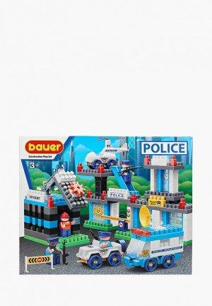 Конструктор Bauer Бауер Полиция 633, набор Департамент полиции. Цвет: разноцветный