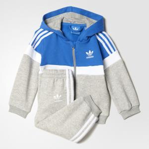 Костюм I TRF FL HFL Originals adidas. Цвет: белый