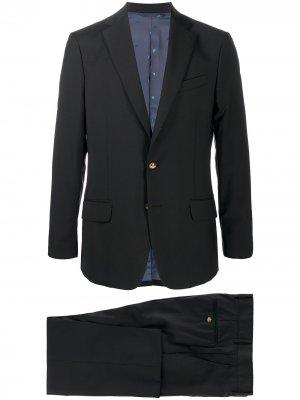 Костюм с однобортным пиджаком и декором Orb Vivienne Westwood. Цвет: черный