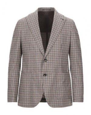 Пиджак PINO LERARIO. Цвет: хаки