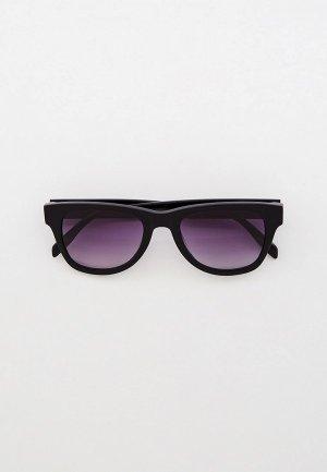 Очки солнцезащитные Karl Lagerfeld KL 6006S 001. Цвет: черный