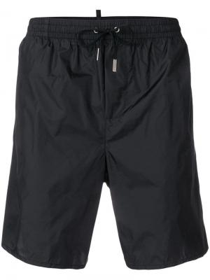 DSQ2 print swim shorts Dsquared2. Цвет: черный