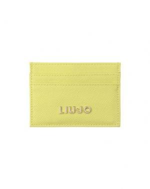Чехол для документов LIU •JO. Цвет: светло-зеленый