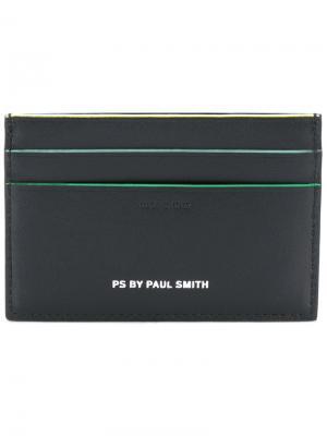 Классическая визитница Ps By Paul Smith. Цвет: чёрный