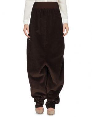 Повседневные брюки BLESS. Цвет: какао