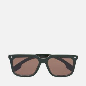 Солнцезащитные очки Carnaby Burberry. Цвет: зелёный