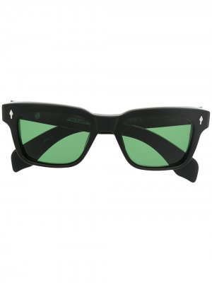 Солнцезащитные очки Molino в квадратной оправе Jacques Marie Mage. Цвет: черный
