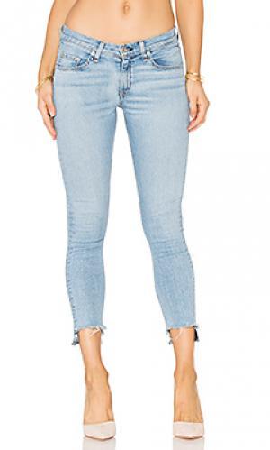 Узкие джинсы капри rag & bone/JEAN. Цвет: none