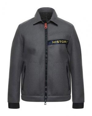 Куртка HISTORIC. Цвет: свинцово-серый