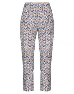 Повседневные брюки VIA MASINI 80. Цвет: белый