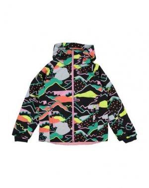 Куртка STELLA McCARTNEY KIDS. Цвет: черный