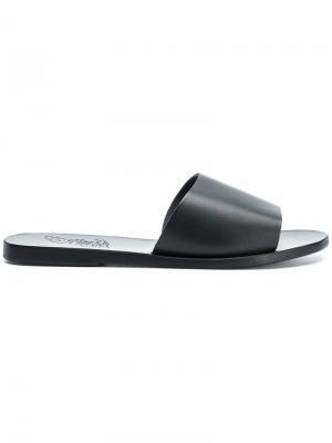 Сандалии Taygete Ancient Greek Sandals. Цвет: черный