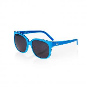 Солнечные очки Lacoste. Цвет: синий