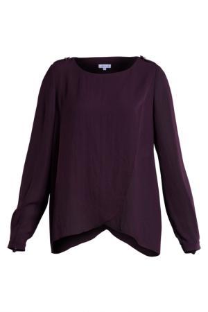 Блузка Alba Conde. Цвет: коричневый