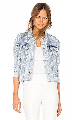 Джинсовая куртка Rag & Bone. Цвет: синий