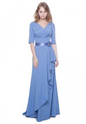 Платье Marichuell MURATTY. Цвет: голубой