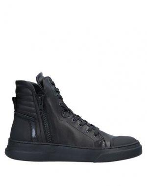 Высокие кеды и кроссовки BRUNO BORDESE. Цвет: черный