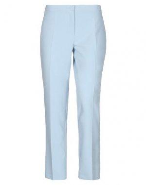 Повседневные брюки DANIELA DREI. Цвет: небесно-голубой