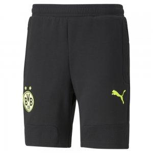 Шорты BVB Casuals Mens Football Shorts PUMA. Цвет: черный