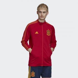 Гимновая куртка сборной Испании Performance adidas. Цвет: красный