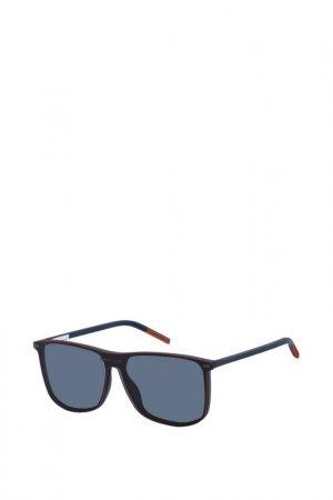 Солнцезащитные очки Tommy Hilfiger. Цвет: синий