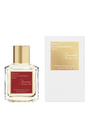 Масло для тела Baccarat Rouge 540 Maison Francis Kurkdjian. Цвет: бесцветный