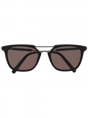 Tods солнцезащитные очки в квадратной оправе Tod's. Цвет: черный