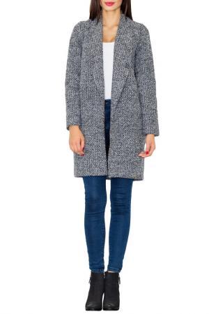 Пальто Figl. Цвет: серый