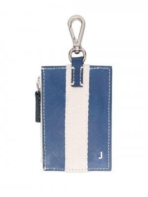Кошелек Le porte Grain с карабином Jacquemus. Цвет: синий