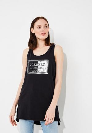 Майка Iceberg. Цвет: черный