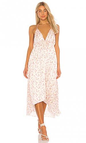 Платье seraphine Tularosa. Цвет: белый