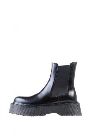 Ботинки-Челси JEFFREY CAMPBELL. Цвет: черный