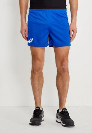 Шорты спортивные ASICS MAN RUSSIA SHORT. Цвет: синий
