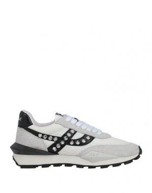 Низкие кеды и кроссовки ASH. Цвет: светло-серый