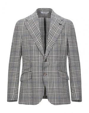Пиджак BOTTEGA MARTINESE. Цвет: темно-коричневый