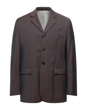 Пиджак MAURO GRIFONI. Цвет: голубиный серый