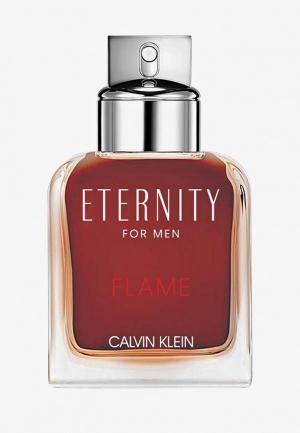 Туалетная вода Calvin Klein Eternity Flame For Man 50 мл. Цвет: прозрачный