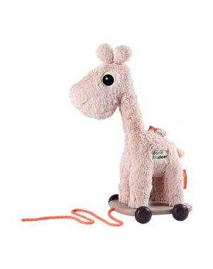 Куклы и мягкие игрушки DONE BY DEER. Цвет: розовый