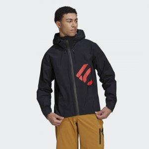 Куртка-дождевик Five Ten All-Mountain adidas. Цвет: черный