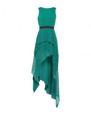 Короткое платье MANGANO. Цвет: зеленый