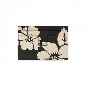 Кожаный футляр для кредитных карт Tom Ford. Цвет: чёрный