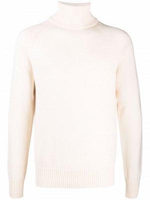 Roll-neck wool jumper Ballantyne. Цвет: белый