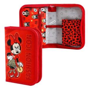Пенал 1 секция откидной карман и космет 140*210 ткань мини Disney