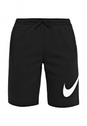 Шорты спортивные Nike Mens Sportswear Short. Цвет: черный
