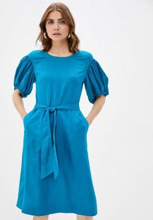 Платье Dimma. Цвет: бирюзовый