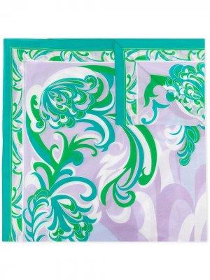 Парео с принтом Albizia Emilio Pucci. Цвет: зеленый