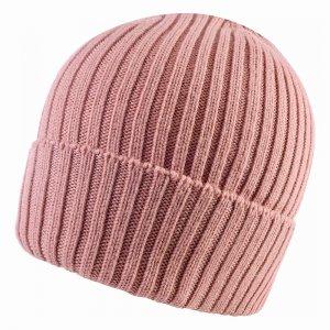 Merino Wool Knit Hat Buff. Цвет: розовый