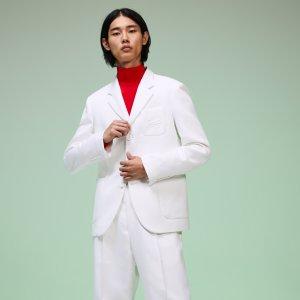 Пиджак Fashion Show Lacoste. Цвет: белый